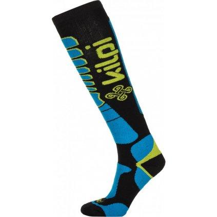 Lyžařské merino ponožky KILPI Tender-u modrá
