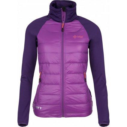 Dámská bunda KILPI Baffin-w tmavě fialová