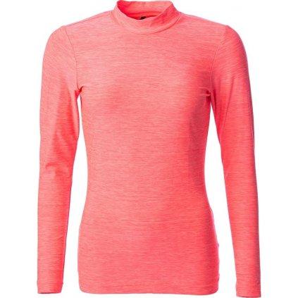 Dámské funkční triko O'STYLE Camila III neonově růžové