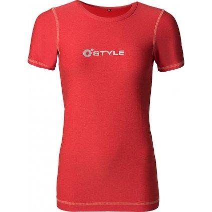 Dámské funkční tričko O'STYLE Dana korálové