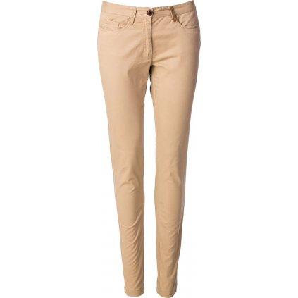 Dámské bavlněné kalhoty O'STYLE béžové