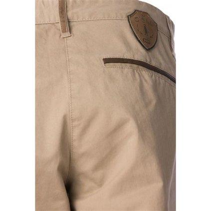 Dámské bavlněné kalhoty O'STYLE Makayla béžové