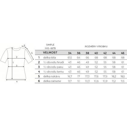 Dámské bavlněné triko O'STYLE Simple šedé