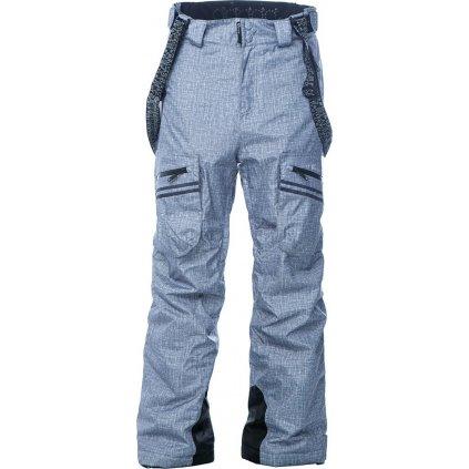 Lyžařské kalhoty O'STYLE Nivalis světle šedé