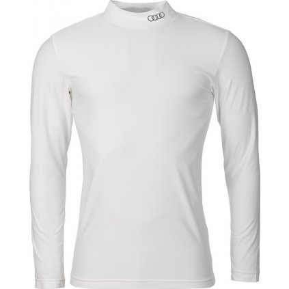Juniorské funkční triko O'STYLE Audi Derek bílé