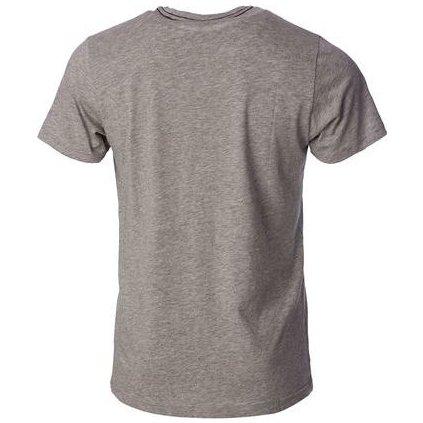 Pánské bavlněné triko O'STYLE Justin šedé
