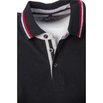 Pánské bavlněné triko O'STYLE Jose černé