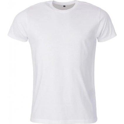 Pánské bavlněné triko O'STYLE Uni bílé