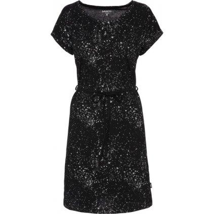 Dámské bavlněné šaty SAM 73 černé
