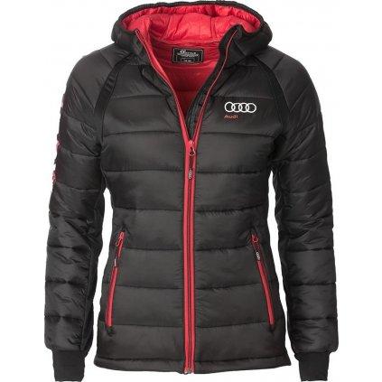 Dámská zateplená bunda O'STYLE Audi Sport černá