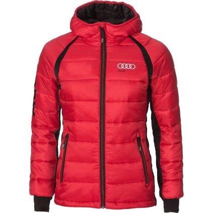 Dámská zateplená bunda O'STYLE Audi Sport červená