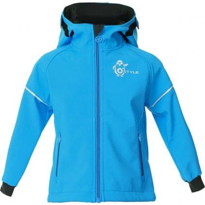 Dětská softshellová bunda O'STYLE Ivon II modrá