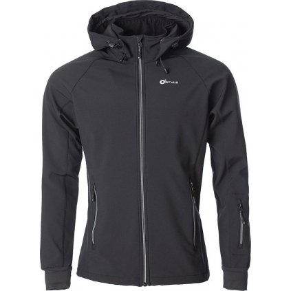 Juniorská softshellová bunda O'STYLE Agilis II černá