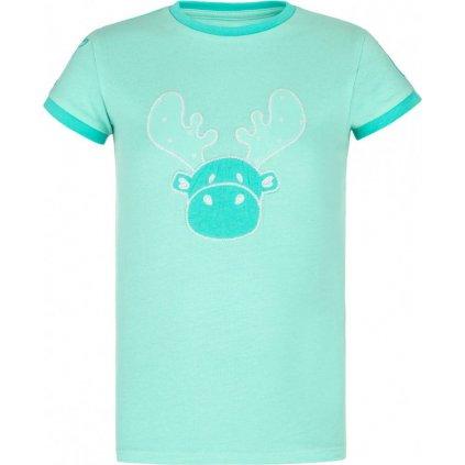 Dívčí triko KILPI Malga-jg tyrkysová