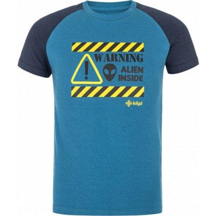 Chlapecké bavlněné triko KILPI Salo-jb modrá