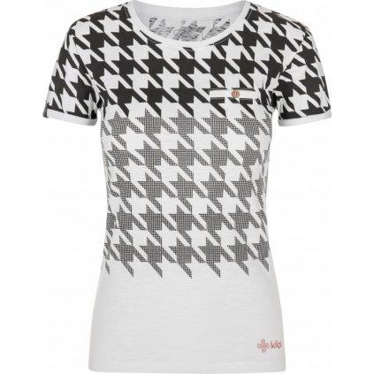 Dámské bavlněné triko KILPI Emmy-w bílá