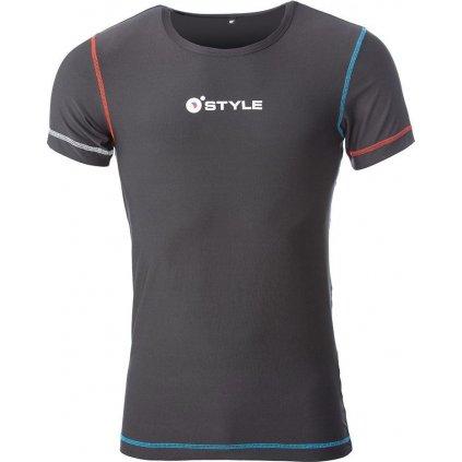 Juniorské funkční triko O'STYLE Carl II černé