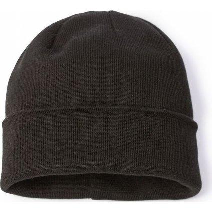 Pletená čepice O'STYLE Ezra černá