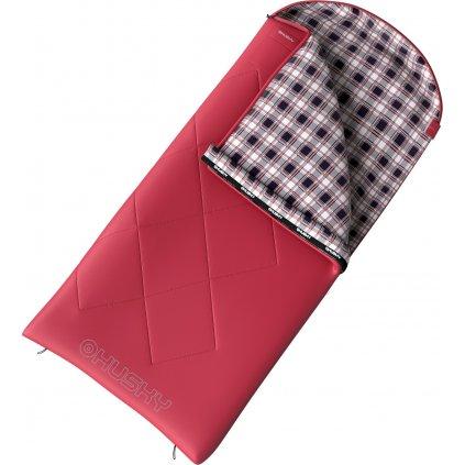 Spacák dekový HUSKY Groty -5°C červená