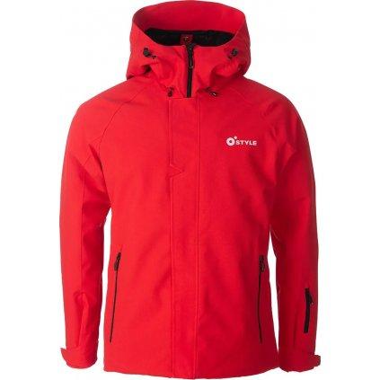 Lyžařská bunda O'STYLE Club červená
