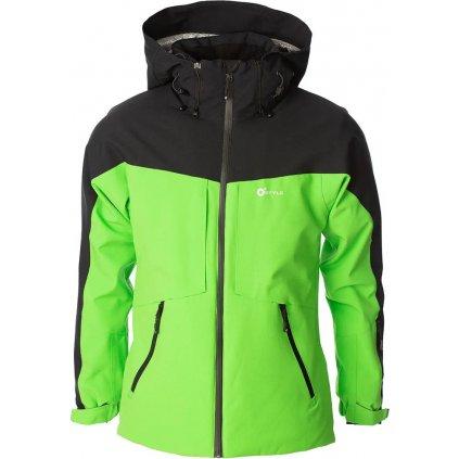 Lyžařská bunda O'STYLE Lautus II zelenočerná