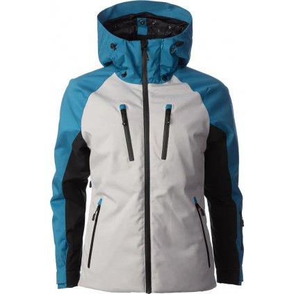 Lyžařská bunda O'STYLE Snow šedá/petrol