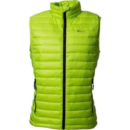 Pánská péřová vesta O'STYLE zelená