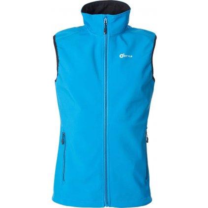 Pánská softshellová vesta O'STYLE Ater III modrá