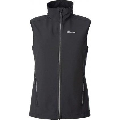 Pánská softshellová vesta O'STYLE Ater III černá