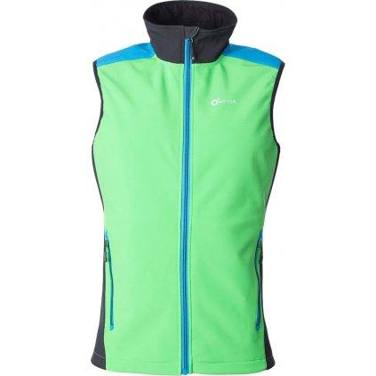 Pánská softshellová vesta O'STYLE Ater III zelená