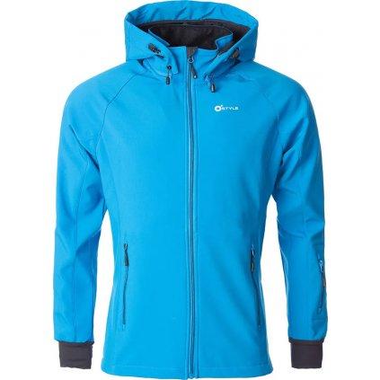 Pánská softshellová bunda O'STYLE Agilis II modrá