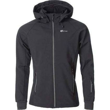 Pánská softshellová bunda O'STYLE Agilis II černá