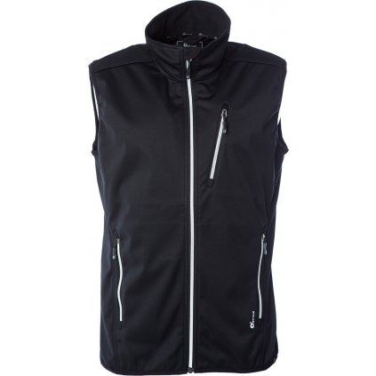 Juniorská softshellová vesta O'STYLE Ater černá