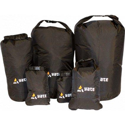 Nepromokavý vak YATE Dry Bag M/8 l černý