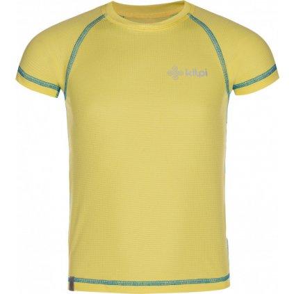 Chlapecké funkční triko KILPI Tecni-jb žlutá