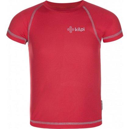 Dívčí funkční triko KILPI Tecni-jg růžová