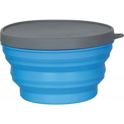 Miska s víčkem HUSKY Tweexy L modrá