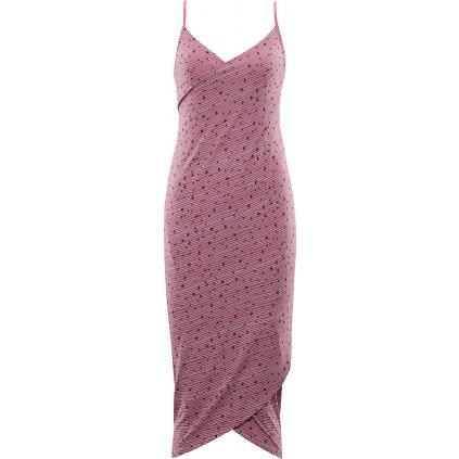 Dámské plážové šaty ALPINE PRO Yara růžové