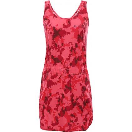 Dámské šaty ALPINE PRO Pata růžové