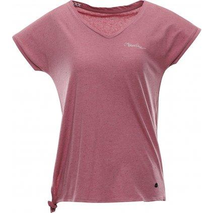 Dámské triko ALPINE PRO Jena růžová