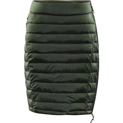 Dámská zateplená sukně ALPINE PRO Bena khaki