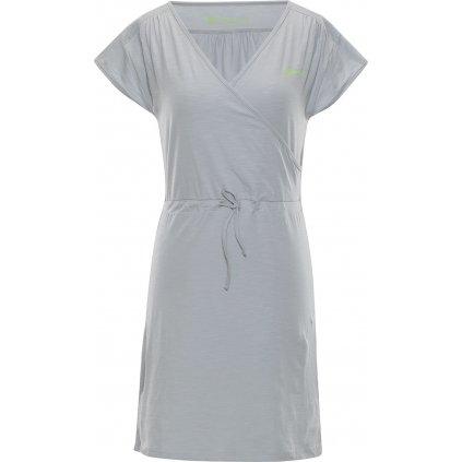 Dámské bavlněné šaty ALPINE PRO Jurua 2
