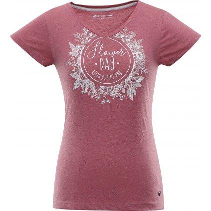 Dámské triko ALPINE PRO Kerpa 4 růžová