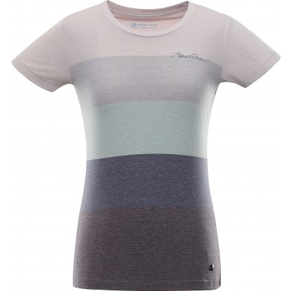Dámské triko ALPINE PRO Milia šedá