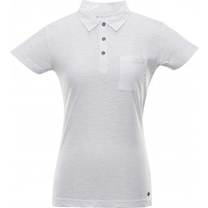 Dámské polo triko ALPINE PRO Erina bílá