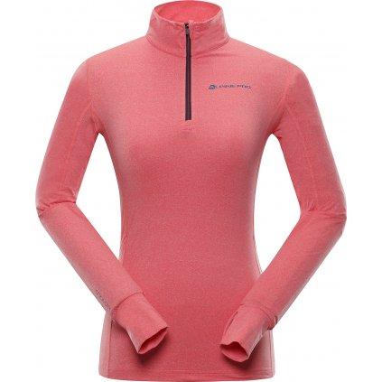 Dámské triko ALPINE PRO Nevea 5 růžová
