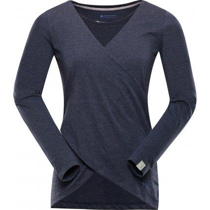 Dámské triko ALPINE PRO Mauda modrá