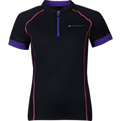 Dámský cyklo dres ALPINE PRO Sorana černá