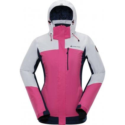 Dámská lyžařská bunda ALPINE PRO Sardara 3 růžová