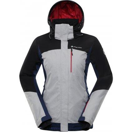 Dámská lyžařská bunda ALPINE PRO Sardara 3 šedá